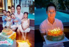 Photo of Minh Hà và các con quây quần mừng sinh nhật Lý Hải