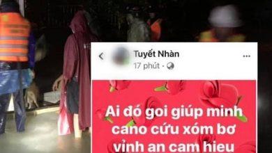 Photo of Nhiều người dân Quảng Trị đồng loạt lên mạng kêu cứu khi lũ bất ngờ lên nhanh trong đêm