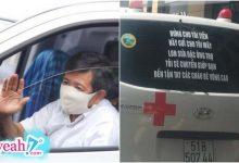 Photo of Xe chở bệnh nhân miễn phí của ông Đoàn Ngọc Hải bất ngờ xuất hiện dòng chữ phía sau, cộng đồng mạng rần rần tặng lời khen