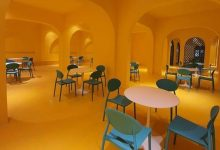"""Photo of Trường học ở Đà Lạt sốt xình xịch với canteen """"vàng khè"""", 1m2 chụp được trăm bức ảnh sống ảo"""