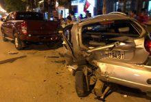 """Photo of Hà Nội: Ô tô """"điên"""" đâm hàng loạt phương tiện khiến 1 người tử vong, tài xế mới 18 tuổi chưa có bằng lái, vượt nồng độ cồn"""