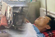 Photo of Gặp nạn trên đường cứu trợ lũ lụt miền Trung, tài xế bị chấn thương sọ não
