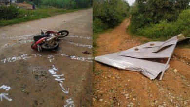 Photo of Gió mạnh hất tấm tôn bay trúng người đàn ông đi xe máy tử vong thương tâm