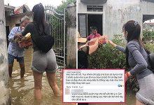 """Photo of Tranh cãi việc soi ăn mặc của Thủy Tiên khi đi từ thiện: Đừng nhìn đời bằng con mắt """"bẩn"""""""
