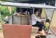 Photo of Thầy giáo nghèo chế tạo 'ô tô tải' chỉ triệu đồng để đi chở hàng thuê, chữa bệnh cho con