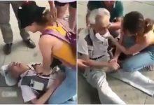 Photo of Cư dân mạng xôn xao cảm phục cô gái trẻ quăng balo, vứt cả điện thoại để cứu cụ ông bị đau tim ở sân bay