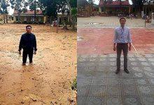 Photo of Bức ảnh trước – sau gây xúc động: Trường học Quảng Trị từng ngập bùn 1 mét đã đón học sinh trở lại