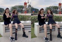 Photo of Ngọc Trinh bị chỉ trích phản cảm khi quay clip mặc váy ngắn ngồi tư thế thiếu tế nhị lộ cả nội y