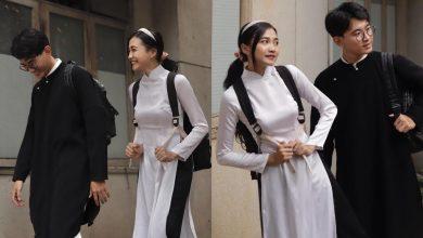 Photo of Vào mà xem nam sinh, nữ sinh cùng mặc áo dài đi học, nhìn cưng xỉu!