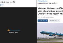 Photo of Tiếp viên hàng không Vietnam Airlines đồng loạt treo hashtag #WeApologize, thay mặt đồng nghiệp xin lỗi cộng đồng