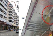 Photo of Thái Bình: Vụ bé trai 3 tuổi rơi từ tầng 8 chung cư độ cao 25m: Mảng xốp lõm gắn dưới mái tôn và pha thoát chết kỳ diệu