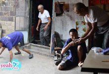 Photo of Người cha 70 tuổi vẫn còng lưng chăm con trai bại liệt suốt 45 năm