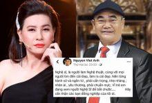 Photo of Biến căng: NS Việt Anh lên tiếng nhắc nhở đàn em nghệ sĩ, Cát Phượng phản hồi nhưng bị phản đối vì thái độ thiếu tôn trọng tiền bối