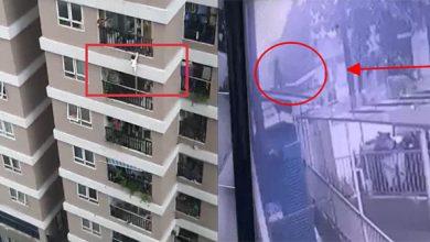 """Photo of Clip: Khoảnh khắc khó tin khi """"siêu nhân đời thực"""" băng tường rào cứu sống bé gái rơi từ tầng 12 chung cư ở Hà Nội"""