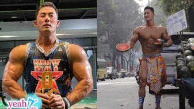 """Photo of """"Vén"""" màn sự thật người đàn ông 6 múi cơ bắp cuồn cuộn bán dưa hấu giữa đường: Chiêu PR """"cao tay""""?"""