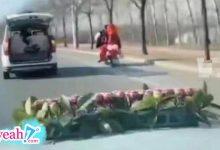 Photo of Cô dâu say xe, chú rể quyết định chạy xe máy hàng chục km đón dâu