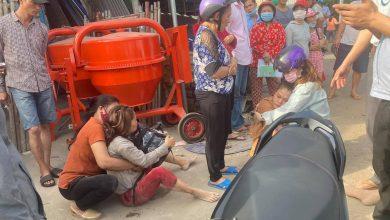 Photo of Người thân gục ngã bên thi thể nữ sinh bị xe tải kéo lê tử vong thương tâm trên đường đi học