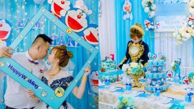 Photo of Cô dâu Bạc Liêu tổ chức đám hỏi độc đáo theo phong cách Doraemon