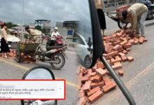 Photo of Chủ xe hơi tiền tỷ được khen ngợi khi miễn phí đền bù cho bác xích lô
