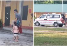 Photo of Bé gái 2 tuổi dương tính với SARS-CoV-2: Bước lên xe cứu thương liền khóc nức nở khi thấy bố ở lại