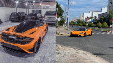 Photo of Đại gia Kiên Giang chơi xe sang biển tứ quý chi tiền tỷ tậu thêm McLaren 765LT