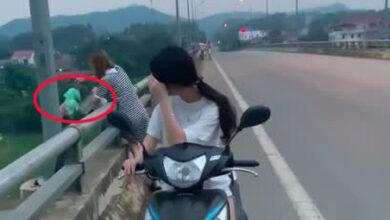 Photo of Hai cô gái trẻ thản nhiên đổ hết rác xuống sông, bức xúc hơn là thái độ khi được nhắc nhở