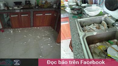 Photo of Bị vợ nhờ rửa bát vì ở nhà cả ngày, chồng dùng búa đập vỡ hết chén bát để khỏi phải rửa