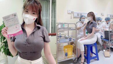 Photo of Âu Hà My đăng ảnh tiêm vắc-xin, dân tình 'phát khóc' trước vòng 1 'ngồn ngộn' của nữ giảng viên
