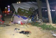 Photo of Bình Thuận: Tai nạn nghiêm trọng tại chốt kiểm dịch làm 1 người chết