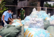 Photo of Đồng Nai: Phát hiện hơn 1 tấn khẩu trang tái chế chuẩn bị tiêu thụ
