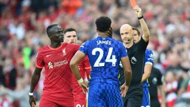 """Photo of Lĩnh thẻ đỏ gây tranh cãi, Chelsea quật cường đứng vững trước """"cơn lốc đỏ"""" Liverpool"""