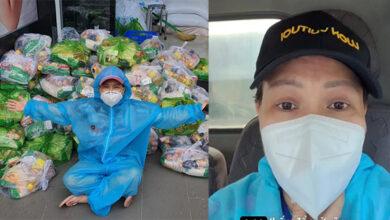 """Photo of Lỡ phát 1 tấn gạo mốc tới người dân, Việt Hương cúi đầu tạ lỗi: """"Em đền liền, em gởi tới trả lại liền"""""""