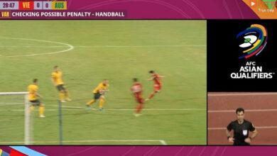 Photo of Còi vàng V.League: Bóng trúng tay hậu vệ Australia, nhưng trọng tài không thổi 11m là đúng