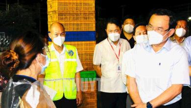 Photo of Vừa mở cửa, chợ đầu mối Bình Điền 'dính' ca dương tính