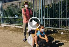 Photo of Cha đẩy hai con nhỏ trên xe cút kít, đi bộ từ Đồng Nai về Cần Thơ sau 4 tháng mắc kẹt trong dịch